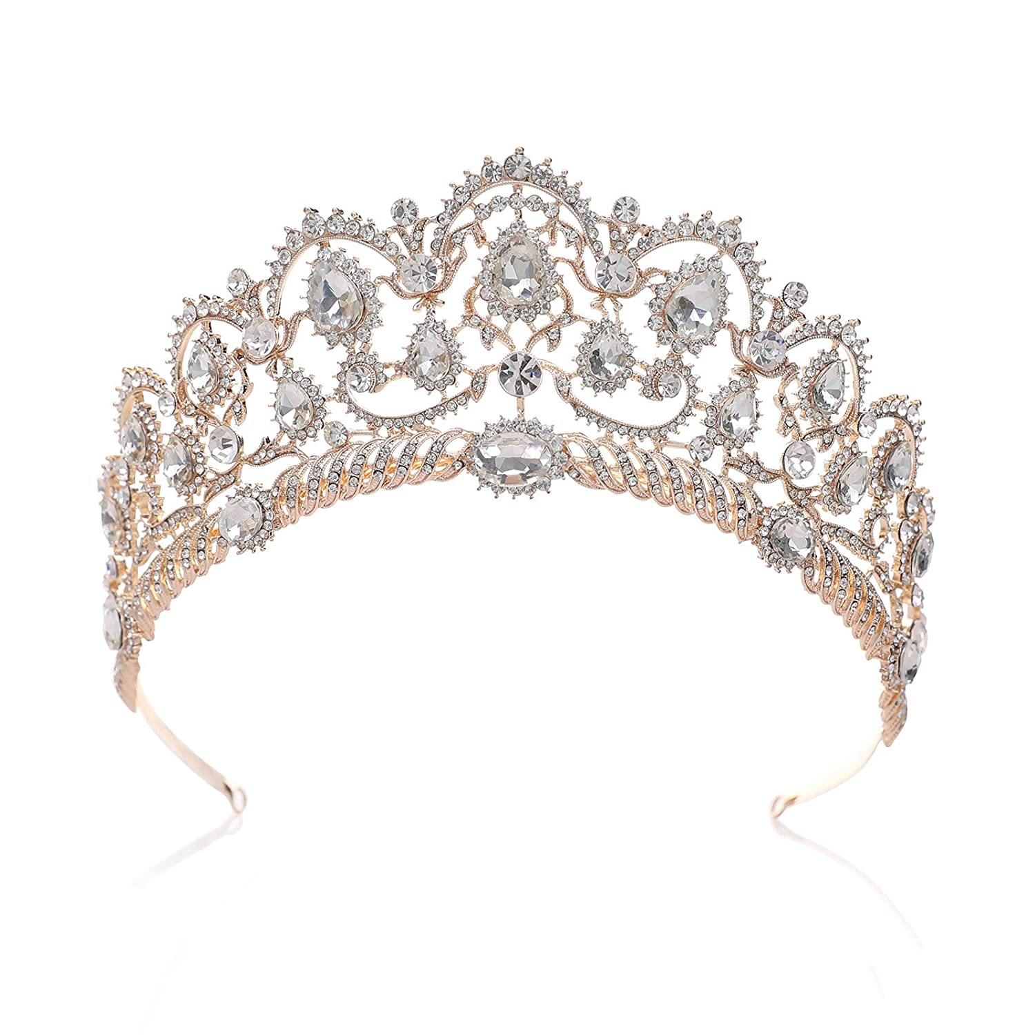 Rose Gold Rhinestone Tiara -Come discover 15 Eclectic Holiday Gifts Under $25 plus Holiday Gift Guides from 7 of Your Favorite Bloggers!