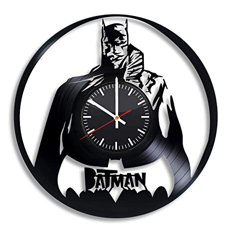Amazon Com Batman Dc Comics Vinyl Record Wall Clock
