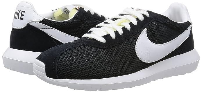 best service 375fc 7bdca Amazon.com   Nike Mens Roshe LD-1000 QS Black White White Casual Shoe 10.5  Men US   Road Running