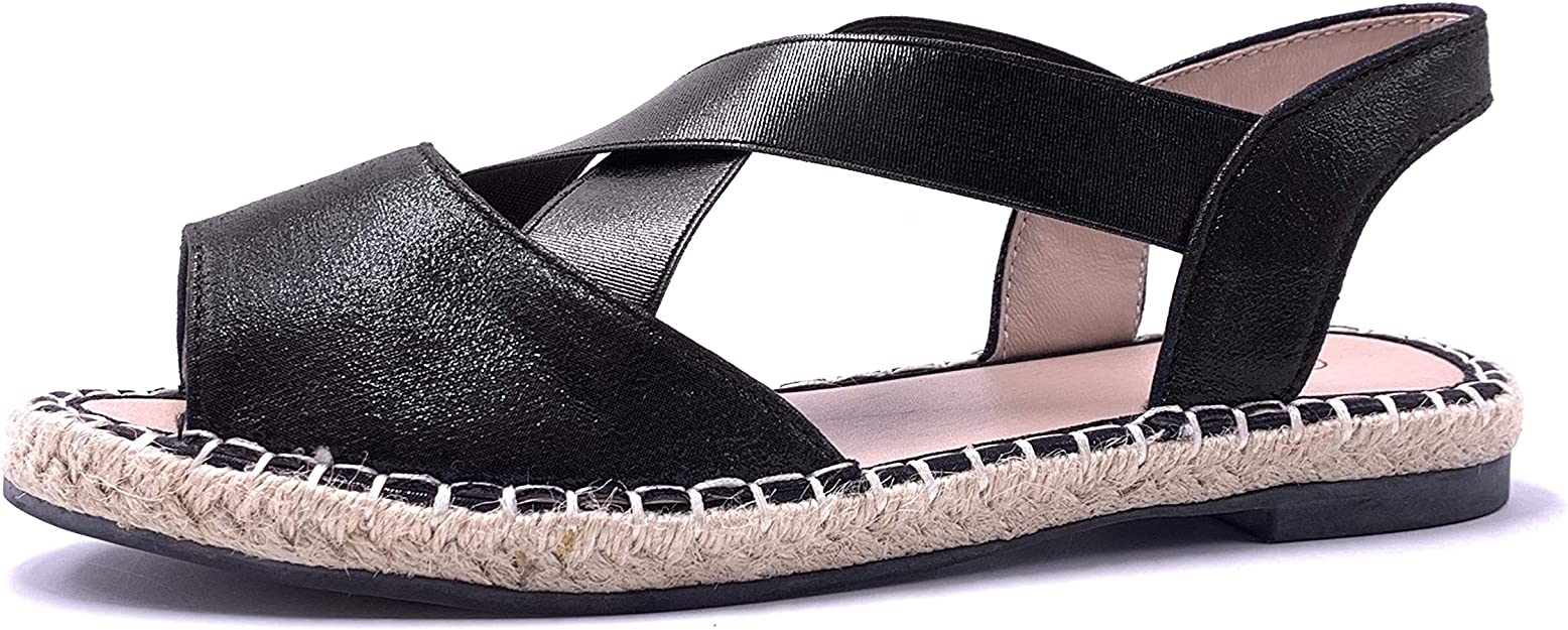 Angkorly Chaussure Mode Sandale Espadrille Casual Folk