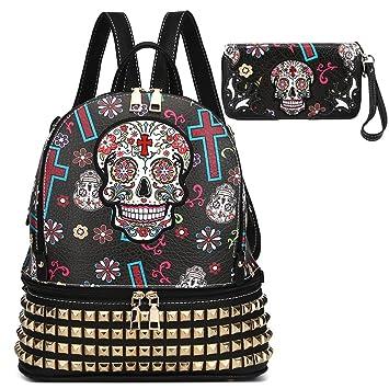 Amazon.com | Sugar Skull Girl Bookbag Halloween