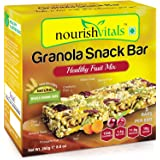 NourishVitals Granola Healthy Fruit Mix Snack Bar, 250g