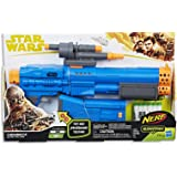 Star Wars - Chewbacca Nerf Blaster inc 6 Genuine Nerf Elite Darts,Stock & Scope - Ages 8+