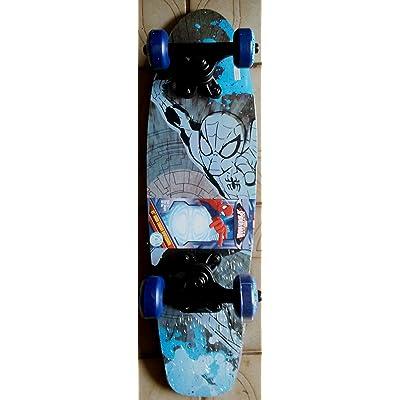 Bravo! Marvel Ultimate Spiderman Kids 21 Complete Skateboard (Designs Assorted) : Sports & Outdoors