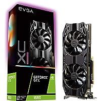 Tarjeta de Video EVGA GeForce GTX 1660 XC Ultra, 6GB GDDR5, ventilador HDB, 06G-P4-1167-KR