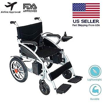 Mobile Wheelchair, Intelligent Electric Motorized Wheelchair, Portable Folding Durable Power Wheel Chair, Elderly