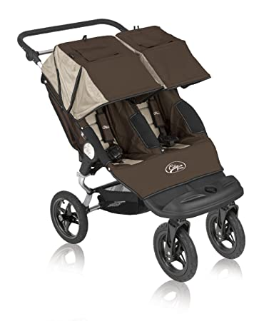 Baby Jogger City Classic Double Stroller Brown Stone Discontinued By Manufacturer