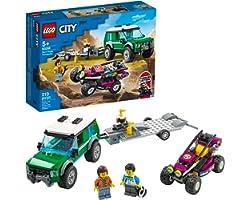 60288 LEGO® City Transportador de Buggy de Corrida; Kit de Construção (210 peças)