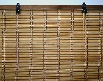 6 modelos 14 medidas de estores de bamb cortina de madera persiana enrollable 110 x - Estores De Bambu
