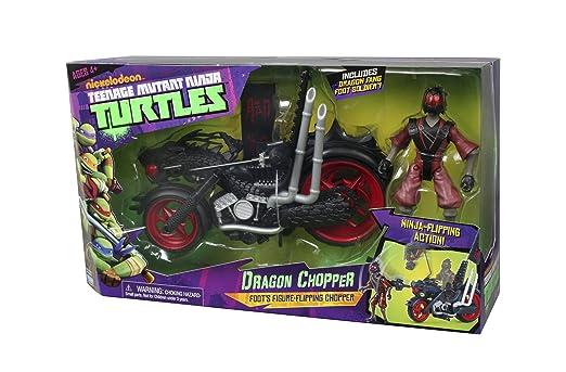 Amazon.com: Teenage Mutant Ninja Turtles Dragon Chopper ...
