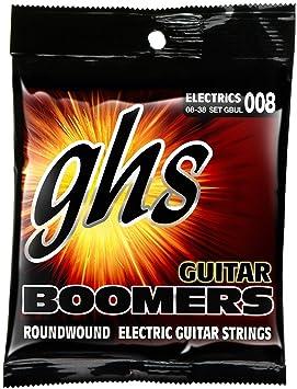 ghs GBUL - Juego de cuerdas para guitarra eléctrica, 8-38 - GHS: Cuerdas guitarra eléctrica gbul: Amazon.es: Instrumentos musicales