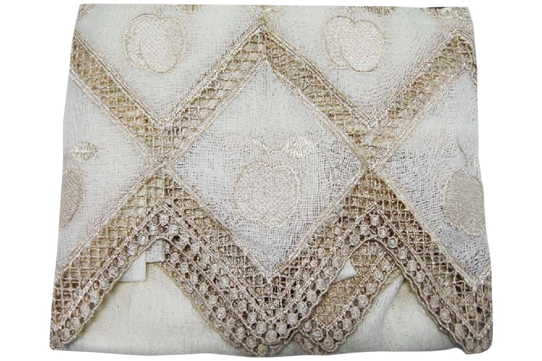 Russo Tessuti Toalla Cortina Panel Mastro B. macramé más al Fondo 140 x 290 cm Manzana Crema: Amazon.es: Hogar