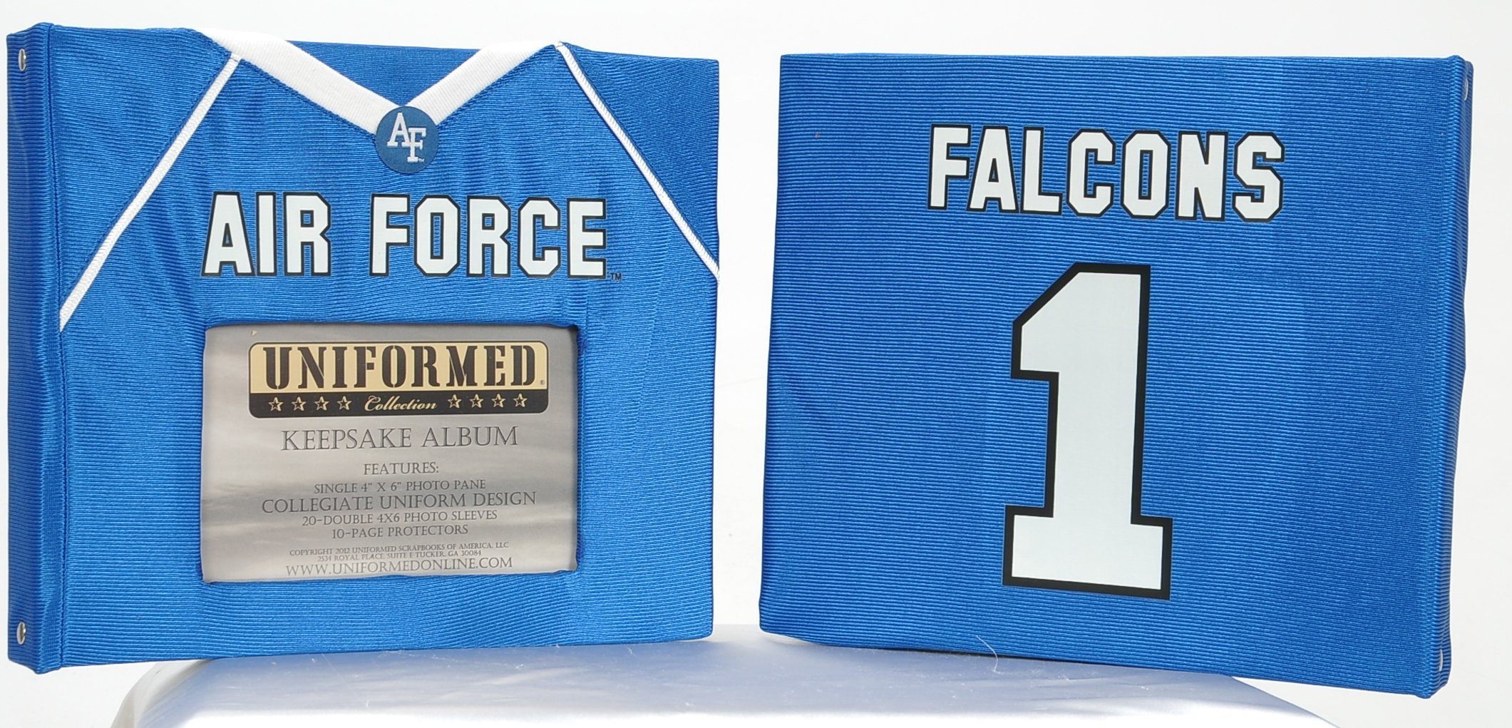 UNIFORMED 02AIRFORCE  Air Force Academy Keepsake/Photo Album by UNIFORMED
