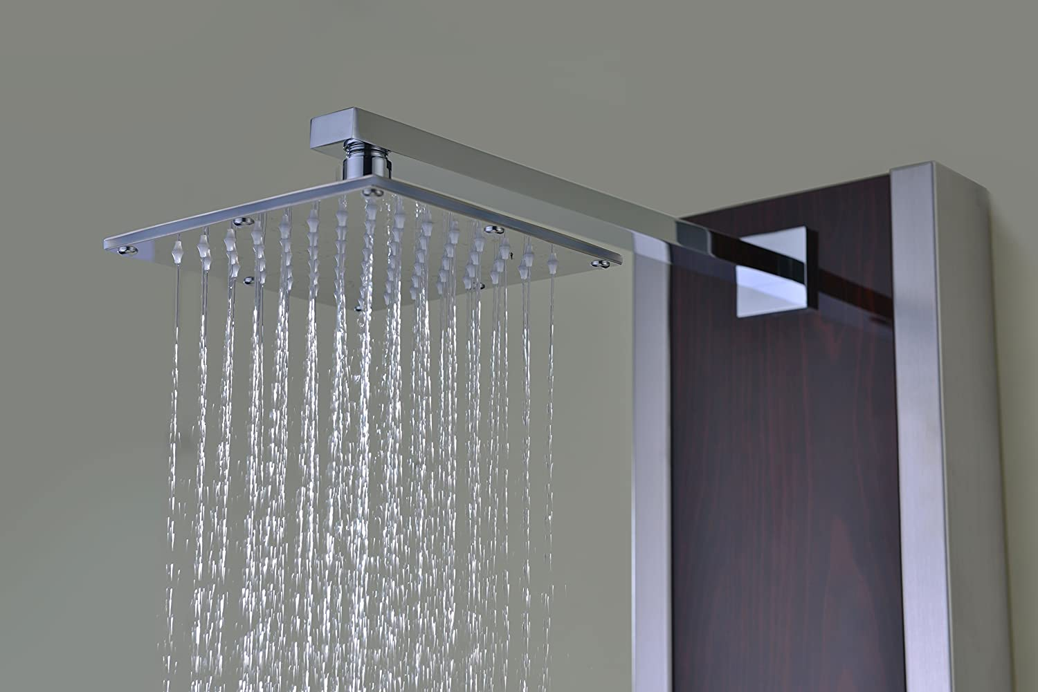 Monsoon 57 in. 4-Jetted Full Body Shower Panel with Heavy Rain ...