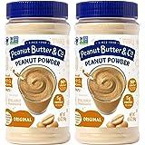 Peanut Butter & Co. Original Peanut Powder, Non-GMO Project Verified, Gluten Free, Vegan, 6.5 oz Jars (Pack of 2)