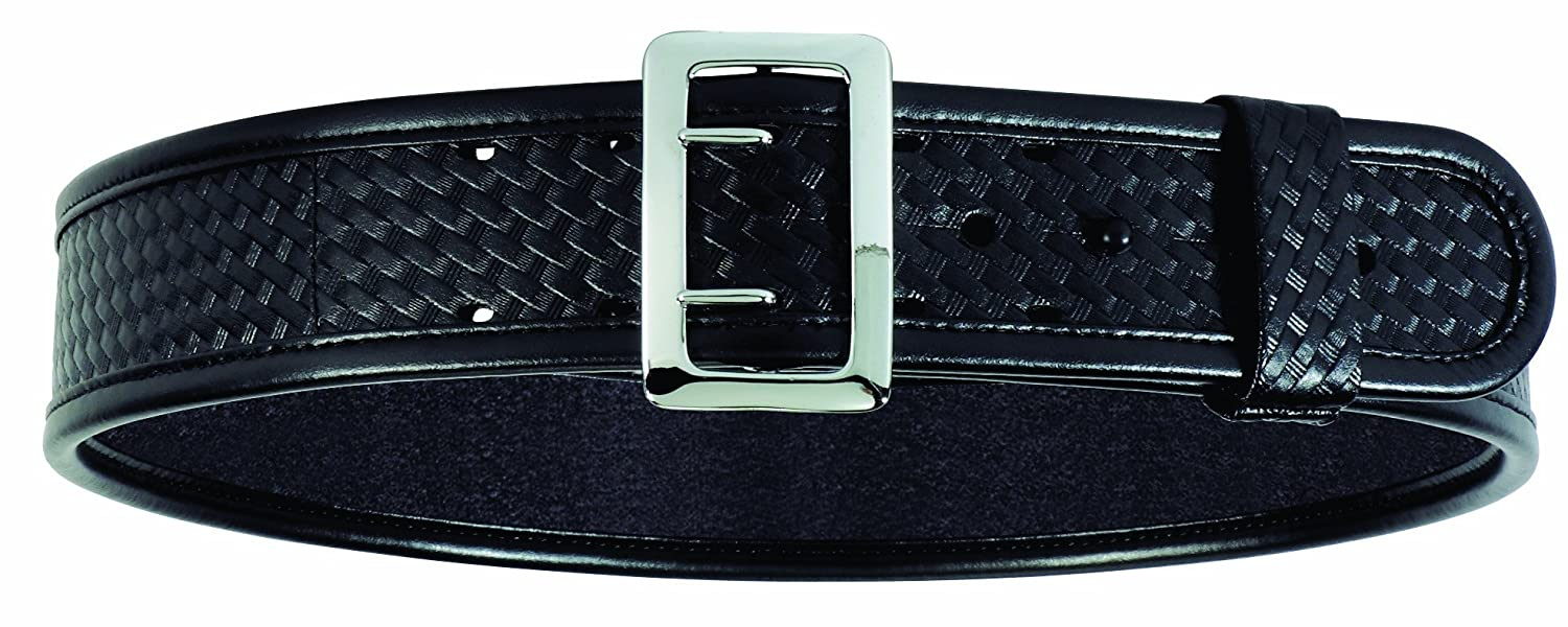 Bianchi 7960 BSK Black Sam Browne Belt with Chrome Buckle SIZ-1016964