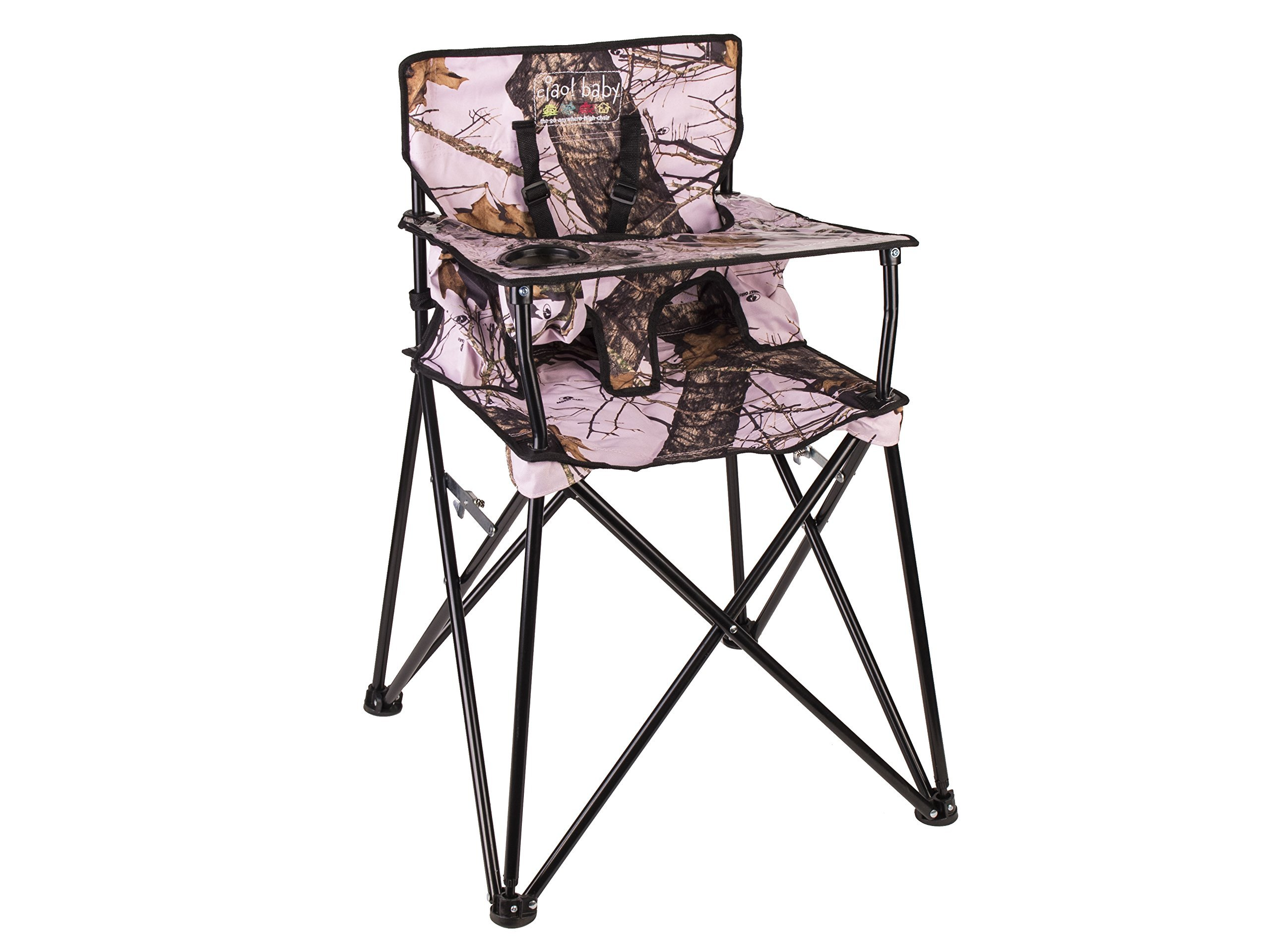 Amazon ciao baby Portable Highchair Mossy Oak Infinity
