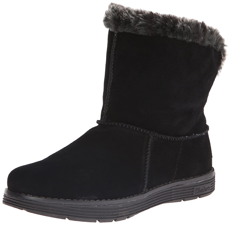 Skechers Damen Adorbs-Polar Stiefel  35.5 EU|Schwarz (Black)