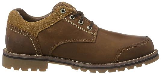 TimberlandLarchmont_Larchmont Oxford - Zapatos Planos con Cordones Hombre, Color Marrón, Talla 41.5