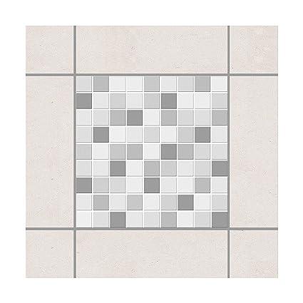 Adesivo per Piastrelle – Mosaico Winter Set 10 cm x 10 cm, Dimensioni  Confezione: 20 Pezzi
