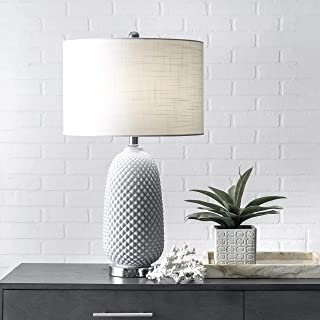 """nuLOOM Home MCT16AA Rayburn Table Lamp, 26"""" Height, Gray"""