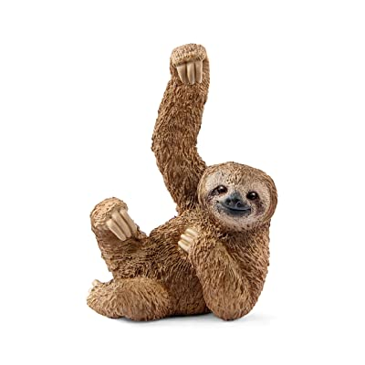 SCHLEICH Wild Life Sloth Educational Figurine for Kids Ages 3-8: Schleich: Toys & Games