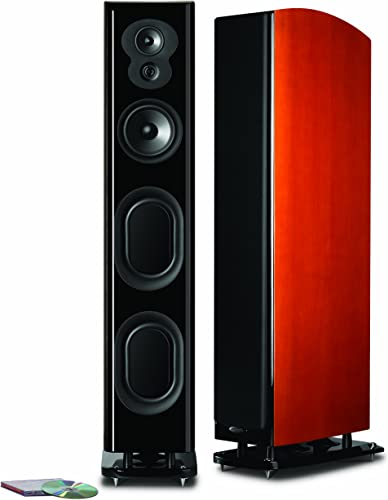 Polk Audio LSiM 707 MVC Loudspeaker Mt. Vernon Cherry, Each