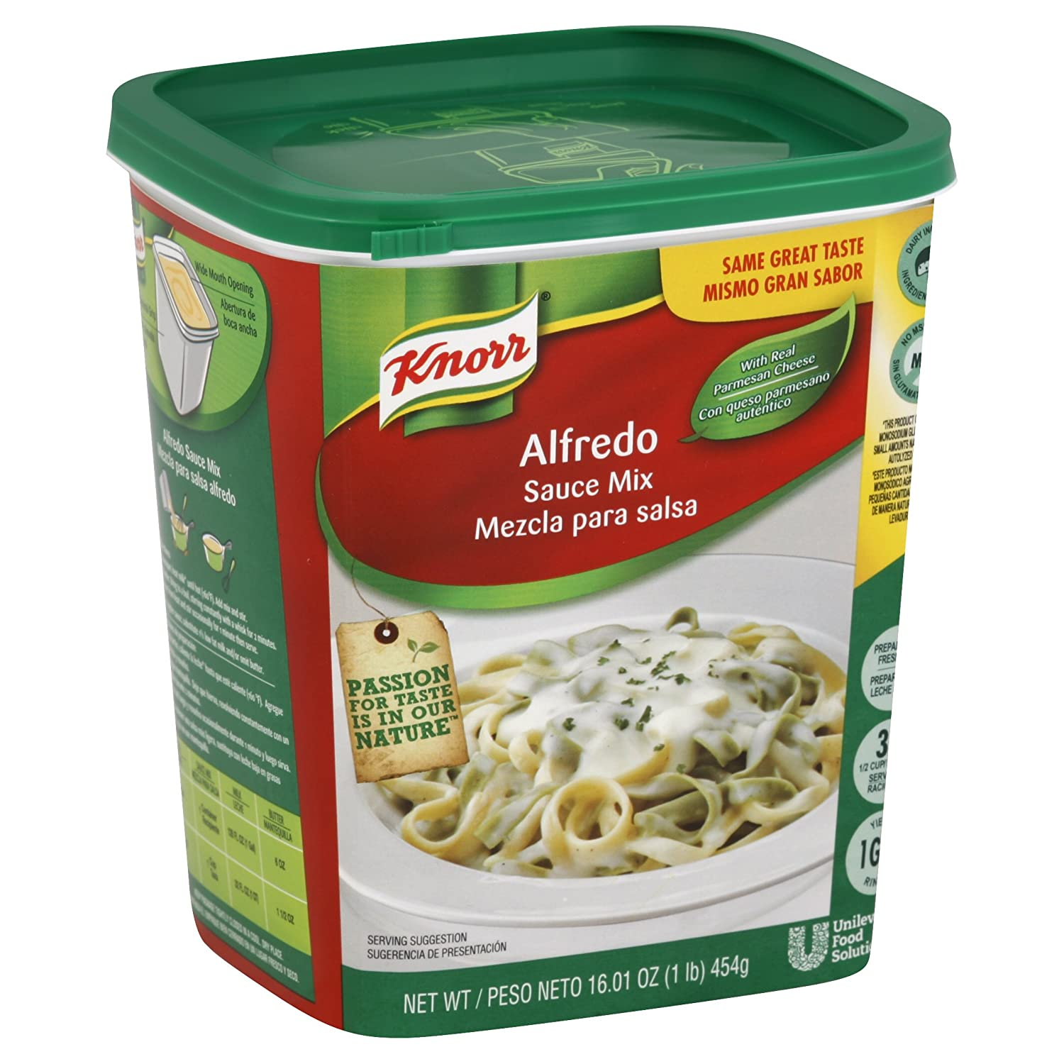 Amazon.com : Knorr Sauce Mix Alfredo 1 lb, Pack of 4 : Grocery & Gourmet Food