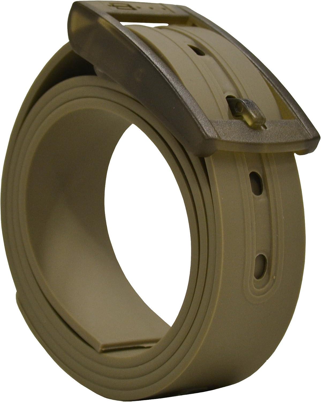 PlugBelt Caqui - Cinturon de golf para hombre, silicona, unitalla ...
