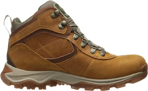 Black Men/'s Mt Maddsen Mid Waterproof Hiking Boot Best Seller!