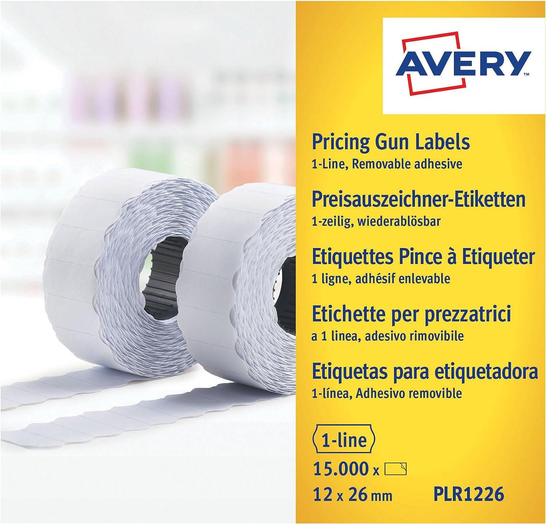 Amazon.com: Avery PLR1226 1 línea extraíble rollo de ...