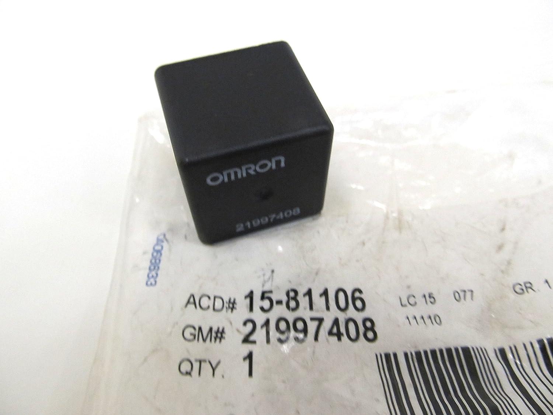 Ignition Accessory Relay ACDelco GM Original Equipment D1724A