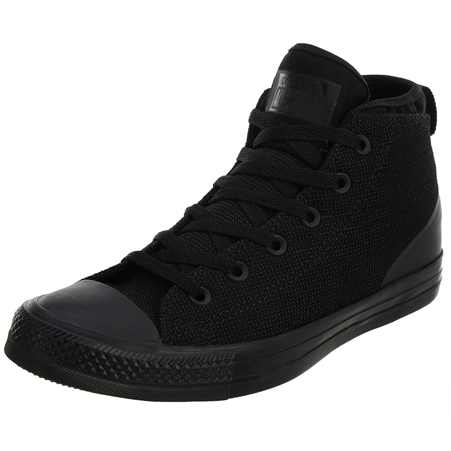 Converse Womens Chuck Taylor All Star Syde Street Mid Canvas Trainers 39 EU|Black
