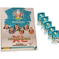 Unbekannt Adrenalyn XL Panini UEFA Euro 2020 lege album verzamelmap + 5 boosters