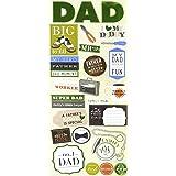 me & my BIG ideas mambiSTICKS Stickers, Dad