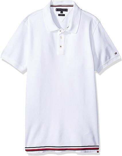 Tommy Hilfiger MW0MW10159 Polo Hombre Blanco XL: Amazon.es: Ropa y ...