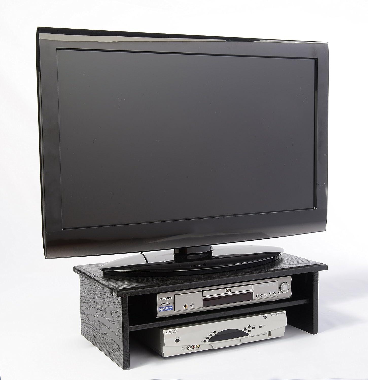 BLACK TRIPLE TIER TV RISER