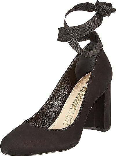TALLA 37 EU. Buffalo London Zs 7166-16 Nobuck, Zapatos de Tacón para Mujer