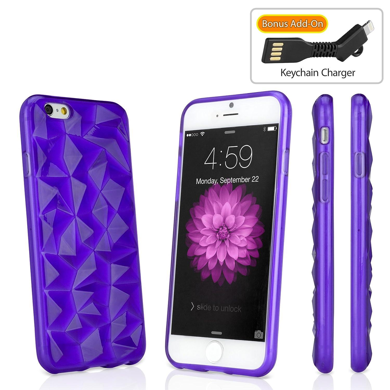 iPhone 6 Caso, BoxWave® [RazMaDaz Caso Bono de con Llavero ...