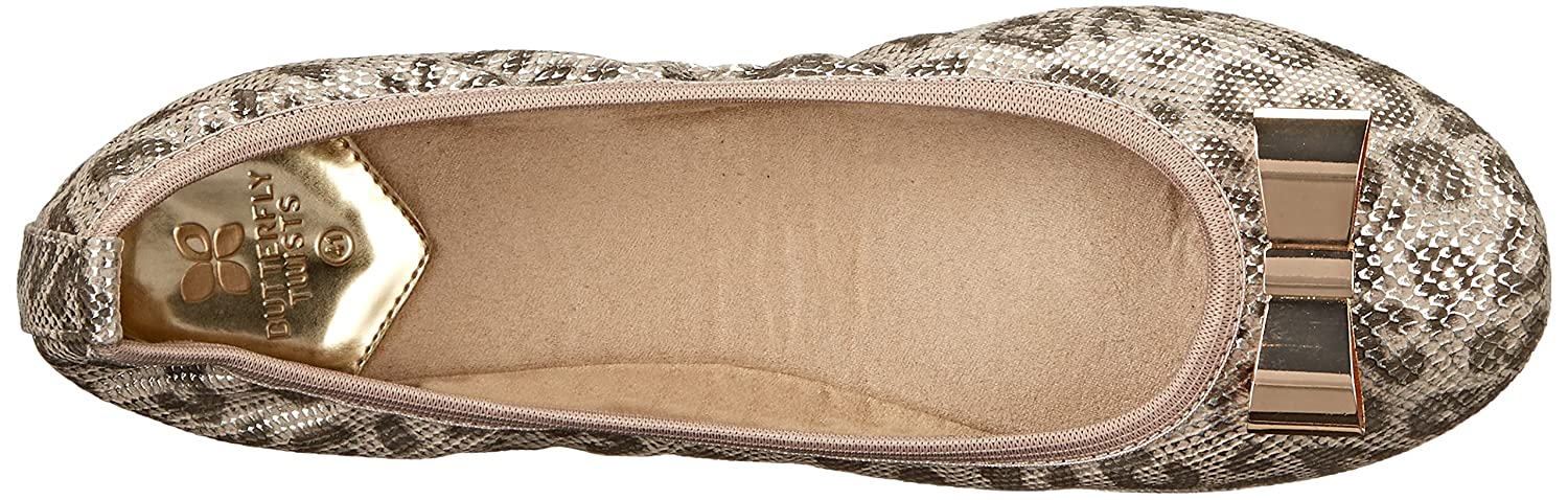 Butterfly Twists Damen Damen Twists Chloe Ballerinas, Silber adc238