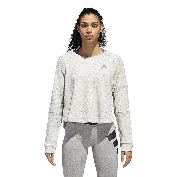 11fc06d28ab adidas Women's Athletics Sport 2 Street Tunic, White Melange/Grey Three, XX-