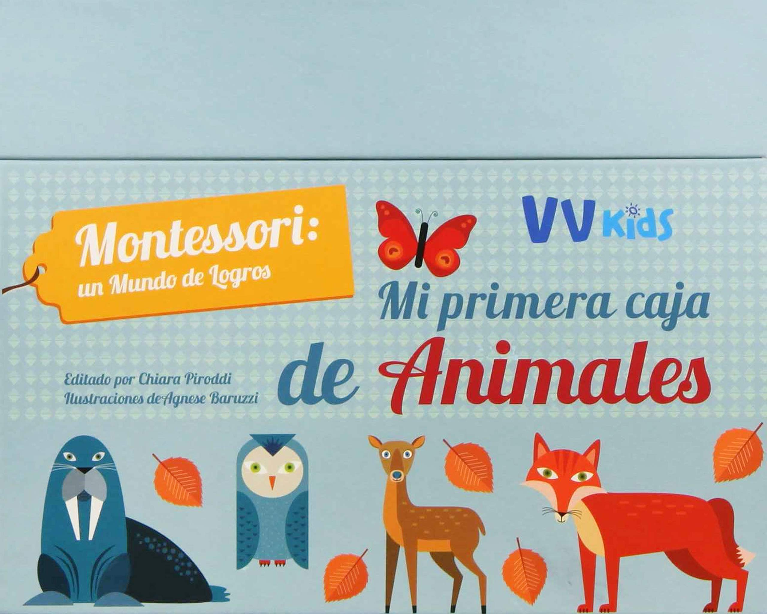 MI PRIMERA CAJA DE ANIMALES VVKIDS Vvkids Montessori: Amazon.es: Piroddi, Chiara, Baruzzi, Agnese: Libros