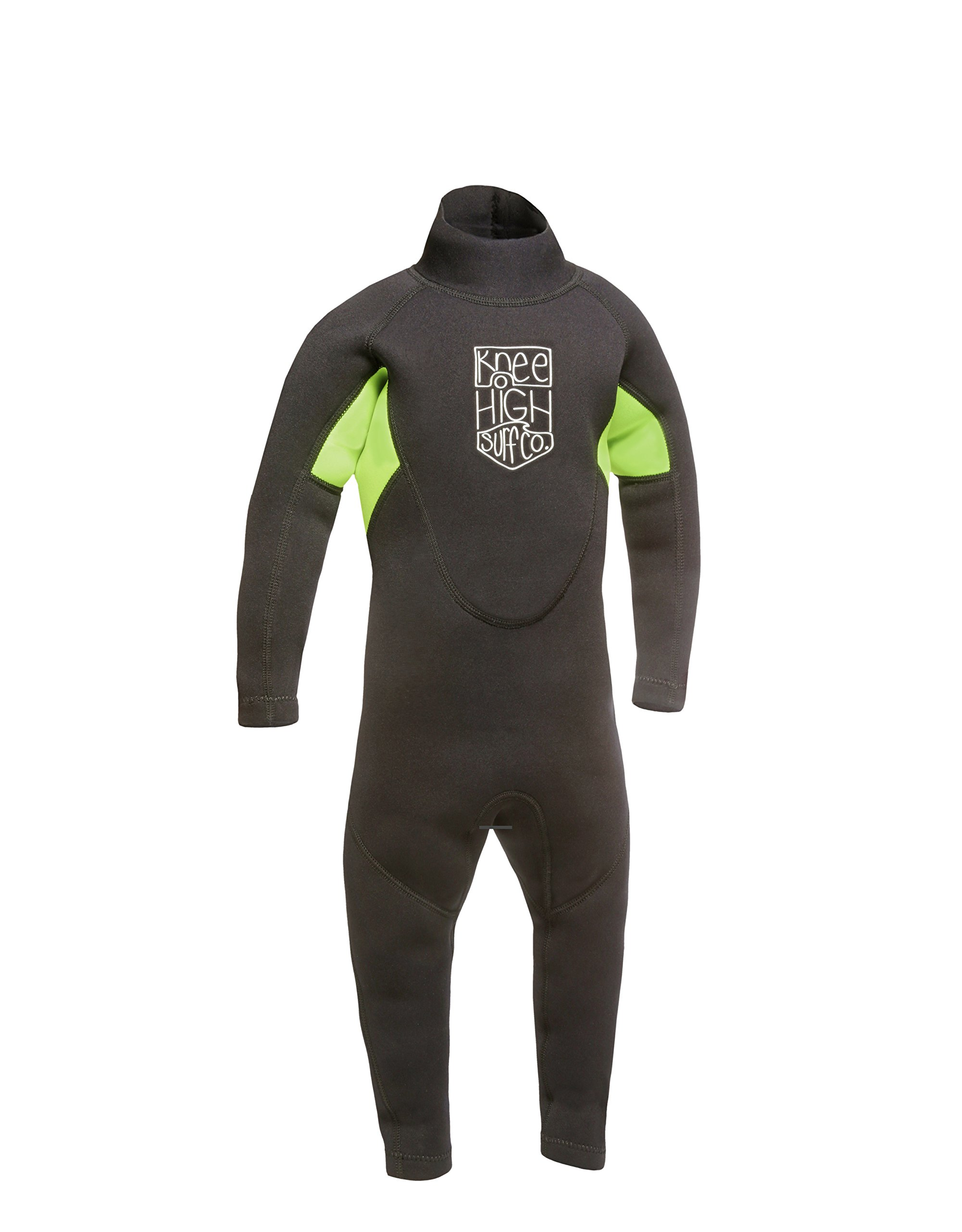 Knee High Surf Co. Kids Wetsuit Full Suit for Infant Toddler and Baby (Small)