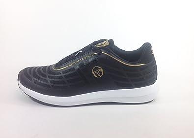 Chaussures à lacets Sergio Tacchini noires Casual homme Lf0QbJsg