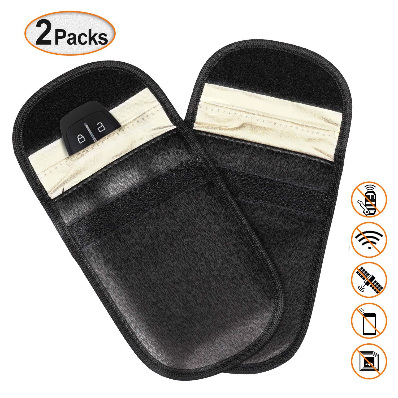 Auto Schlü ssel Signal Blocker Tasche, Keyless Remotes Control Eintrag Fob Guard Signalblockierung Tasche,gesunde Handy-Datenschutz Sicherheit WIFI / GSM / LTE / NFC / RF Blocker PullPritt