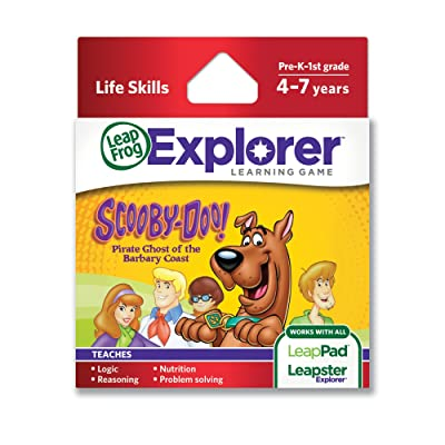 LeapFrog Scooby-Doo! Pirate Ghost of the Barbary Coast Learning Game (works with LeapPad Tablets, LeapsterGS and Leapster Explorer): Toys & Games
