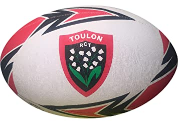 ef82f334f6458 RUGBY CLUB TOULONNAIS Ballon replica Gilbert Supporter - Collection  officielle - RCT Rugby Club TOULON -