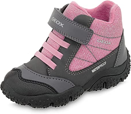 Anécdota Opiáceo Generalmente  Amazon.com: Geox Girls' Baltic Waterproof Ankle Shoe/Elast STRP: Shoes