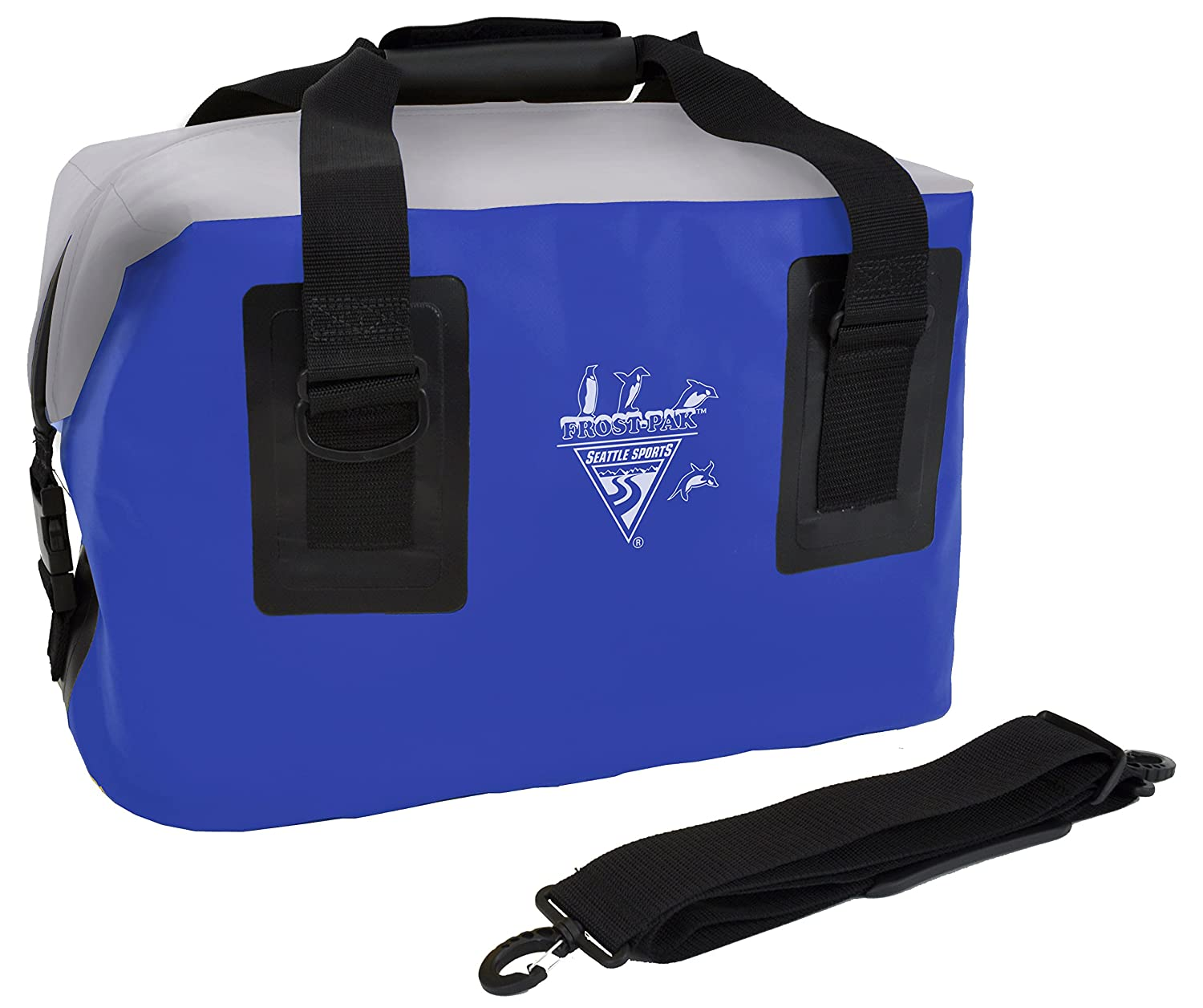 Seattle Sports Built USA frostpak 44 QT Zip Top cooler- blau