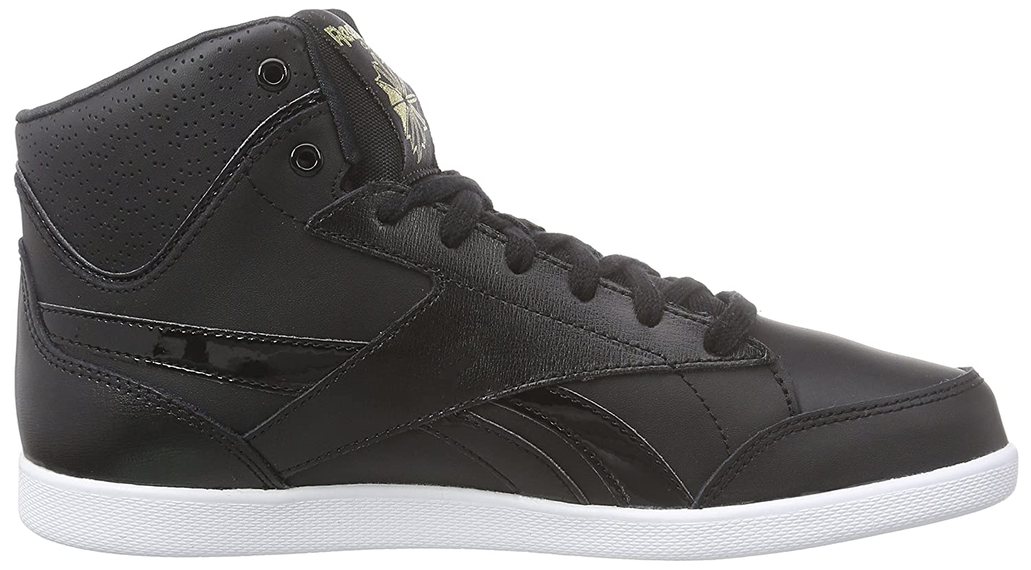 Reebok Women's Fabulista Mid Night Out High-Top Trainers Black Size: 2.5:  Amazon.co.uk: Shoes & Bags